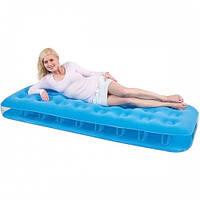 Односпальный надувной матрас Bestway 67387 Blue