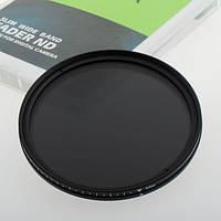 ND фильтр переменной плотности ND2-ND400, 82мм