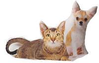 Подушка «Кошка и собака»