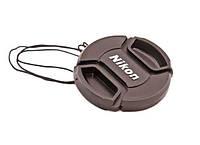 Крышка Nikon диаметр 67мм, с шніурком, на объектив