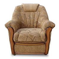 Кресло Султан не раскладное  ткань Готика коричневое
