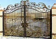 Ворота кованые калитки решетки, Одесса