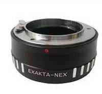 Адаптер переходник Exakta EXA - Sony NEX E, кольцо