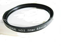 Светофильтр нейтрально-серый ND2 52мм CITIWIDE