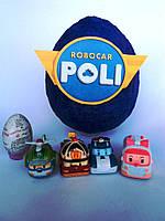 Яйцо-сюрприз с игрушками Робокар Поли