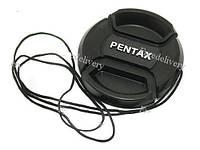 Крышка Pentax диаметр 49мм, со шнурком, на объекти