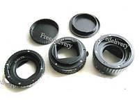 Набор макро колец, автофокус AF для Canon, пластик