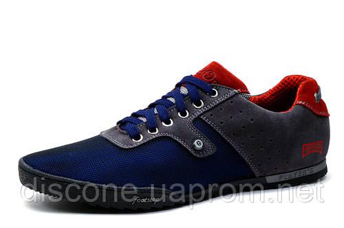 Спортивные туфли Gekon S68c, мужские, сине-серые