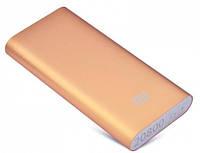 Универсальная батарея - Xiaomi power bank MI 8 20800 mAh, gold, фото 1