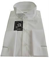 Рубашка мужская под бабочку айвори  №10/145 -500/12-4306