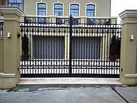 откатные ворота и калитки