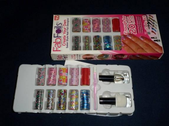 Fab foils Фольга для ногтей, фото 2