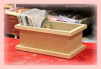 Ящик для хранения декупажных салфеток.
