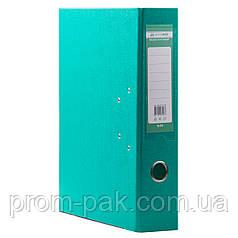 Канцтовары папки регистраторы  А4  7см бирюза ВМ