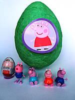 Яйцо-сюрприз с игрушками  Пеппа