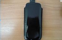 Чехол кисет кожаный с лентой Guta (кожа) 03_109_000 для Samsung S5620