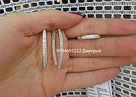 Набор с камнями Блеск серебро 925, фото 1