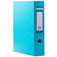 Папка регистратор с арочным механизмом  А4 Buromax 7см  голубая