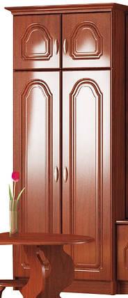 Шкаф  Франек 2070х800х515мм лак яблоня   Мебель-Сервис, фото 2