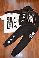Трикотажные спортивные костюмы троечки для мальчиков,Размеры 4-12.Фирма C'EST LA VIE.Польша, фото 1