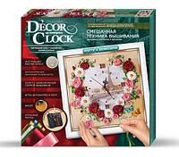 """Набор для творчества часы своими руками """"Часы Decor Clock 01"""", Danko Toys"""