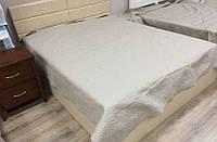 Кровать Джустина с ПМ (беж-карамельный)
