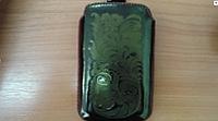 Чехол кисет кожаный с лентой Guta (кожа) 03_107_204 для Nokia 5800