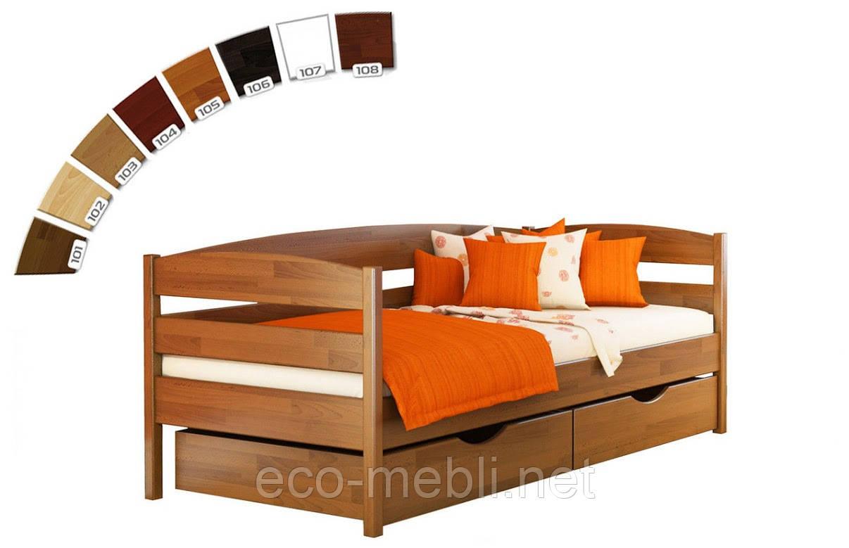 Одномісне дитяче ліжко Estella Нота плюс