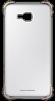 Чехол накладка Clear Cover для Samsung Galaxy A7 2016 Duos A710 золотой