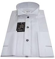 Рубашка мужская  №10/14  классического кроя белая, фото 1