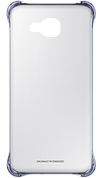 Чехол накладка Clear Cover для Samsung Galaxy A7 2016 Duos A710 черный