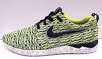 Кроссовки мужские Nike из текстиля салатовые NI0079