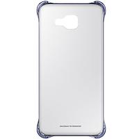 Чехол накладка Clear Cover для Samsung Galaxy A7 2016 Duos A710 серый