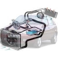 Система охлаждения Ford Fiesta Форд Фиеста 1995-1999