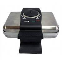 Вафельница Saturn  65-100-01, 1000Вт, с тефлоновым покрытием