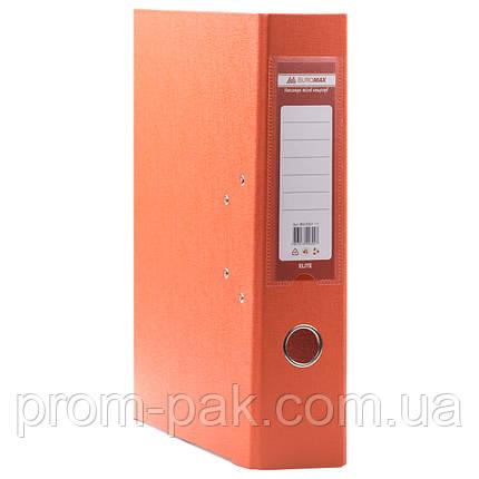 Папка регистратор а4 Buromax 5см оранжевый, фото 2