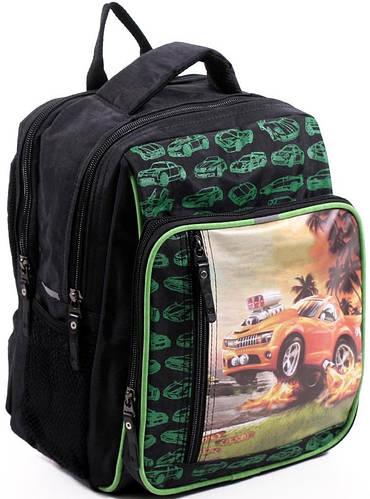 Легкий школьный рюкзак для мальчика из нейлона 9 л. Bagland 11270-19 черный