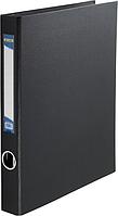 Папка-реєстратор A4 картон 4 кольц. 40 мм ВМ.3106-01 (чорн), фото 1