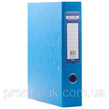 Папка регистратор а4 Buromax 7см светло-синий, фото 2