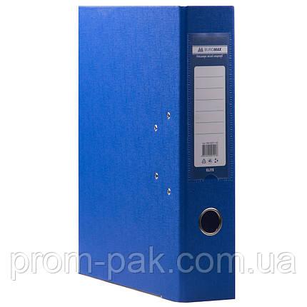 Папка регистратор а4 Buromax 7см синий, фото 2