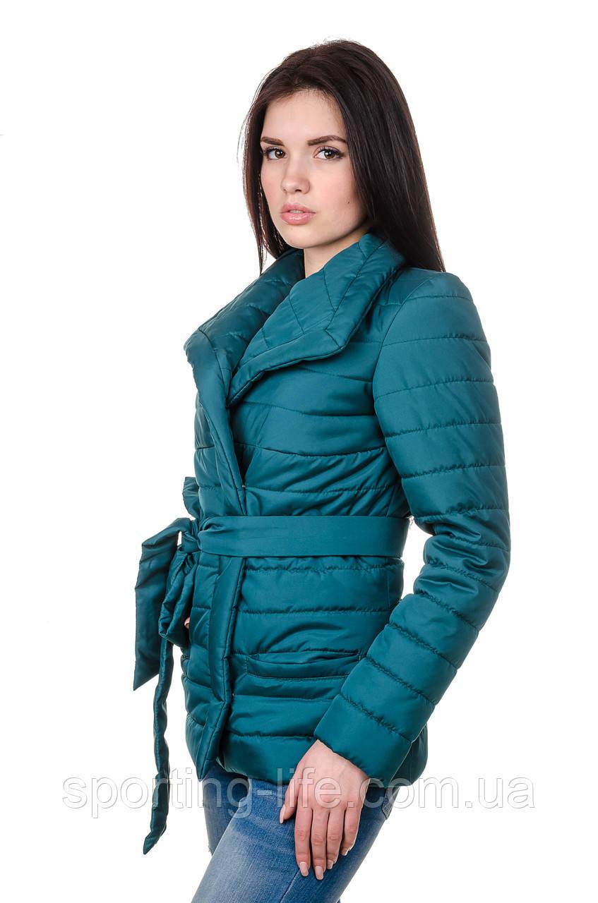 Элегантная женская куртка деми Миледи (бутылка), фото 1