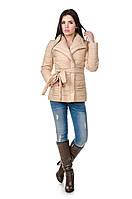 Элегантная женская куртка деми Миледи (беж), фото 1