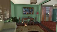 3D анимация проекта загородного дома