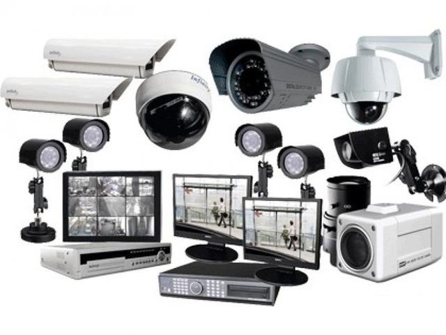 Видеонаблюдение, сигнализация, домофоны