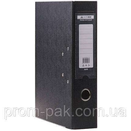 Папка регистратор а4 Buromax 7см черный, фото 2