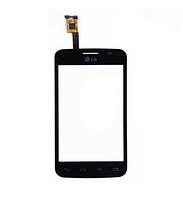 Оригинальный тачскрин / сенсор (сенсорное стекло) для LG Optimus L4 II Dual E445 (черный цвет)