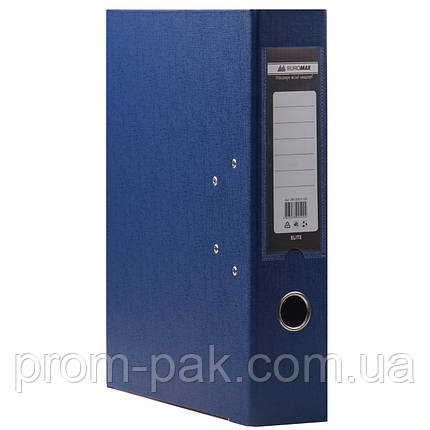 Папка регистратор а4 Buromax 7см темно-синий, фото 2