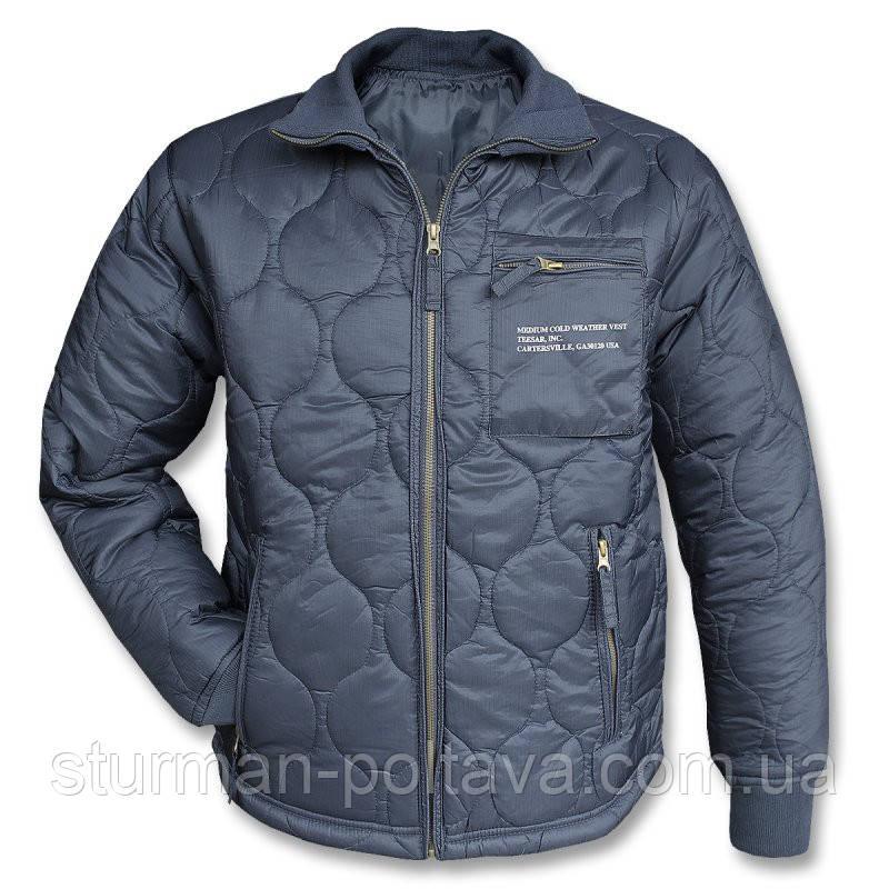 Куртка мужская демисизонная утеплитель - подстежка US KÄLTESCHUTZJACKE Mil-Tec цвет  синий  Германия