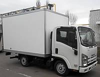 Автомобиль грузовой ISUZU NLR 85 AL сэндвич-панельный фургон