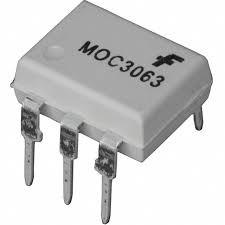 Оптосимистор Moc3063 DIP